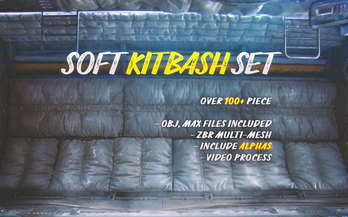 SOFT KITBASH SET on Student Show