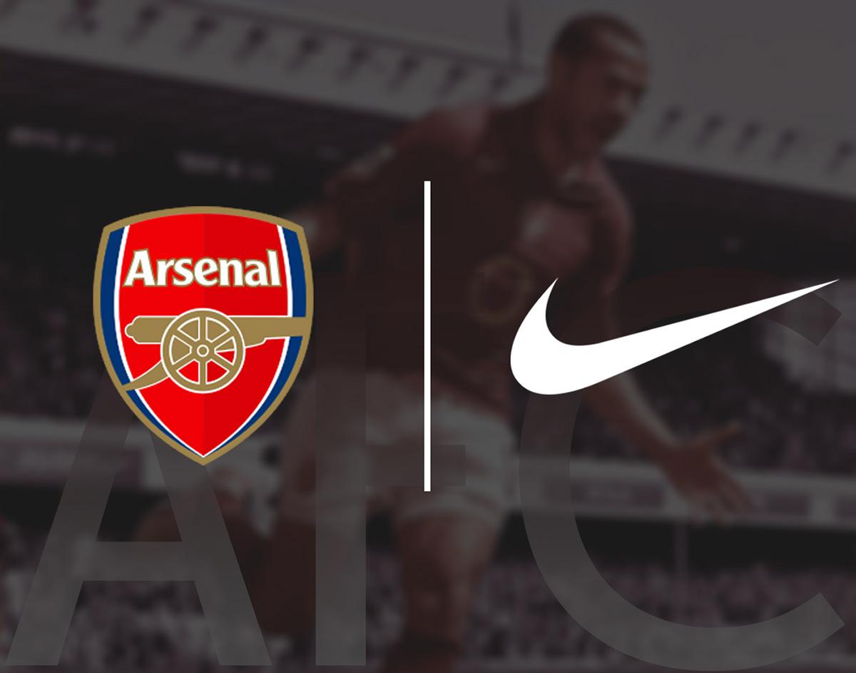 promo code fb0ed de80b Arsenal FC Nike Concept Kits | 2019-2020 on Behance