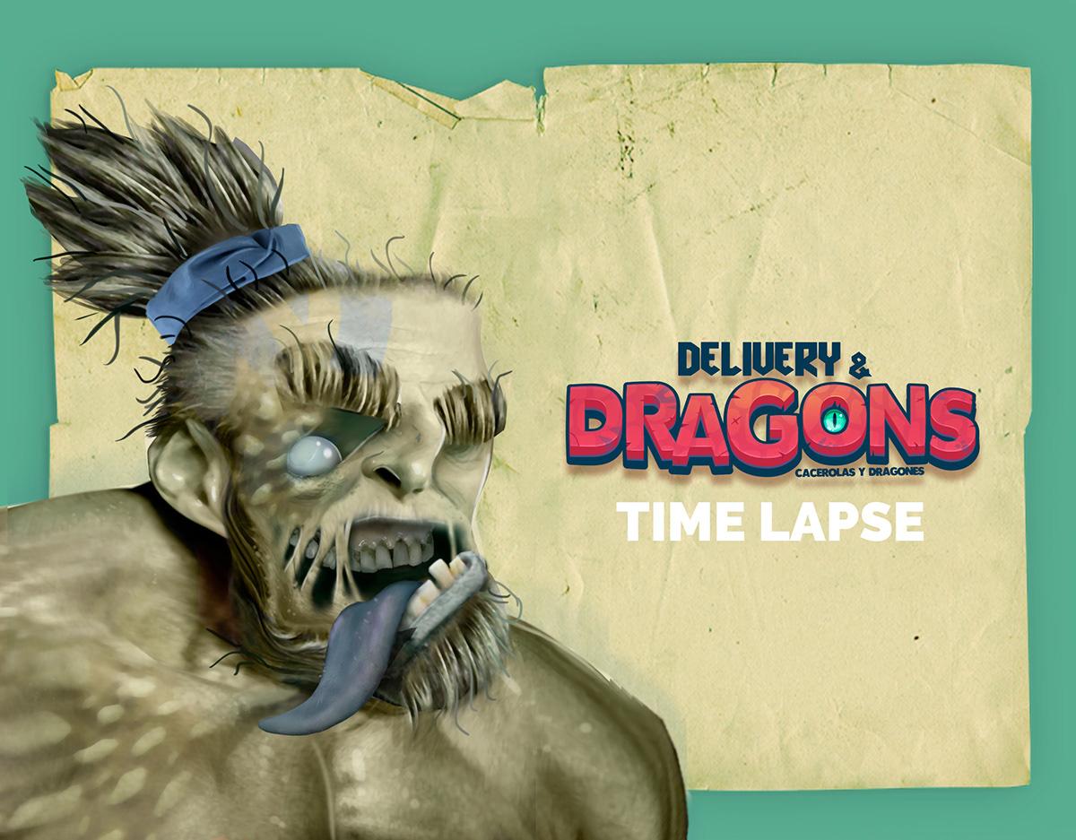 dragons videojuegos zombie