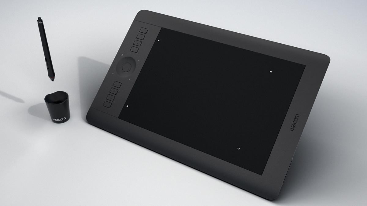 Wacom Intuos Pro M - Free 3D Model on Behance