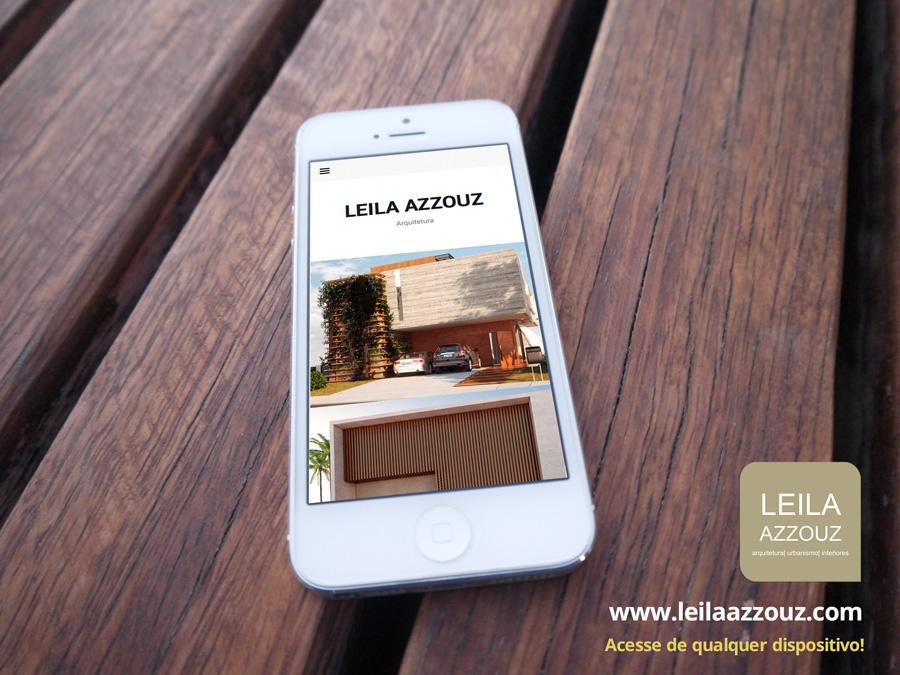 site criar site criar sites criação de sites construir sites clidenor clidenorjr clidenorME Leila Azzouz site de arquitetura site arquitetura