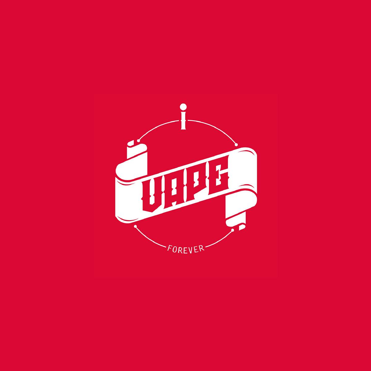 I vape logo design on behance for Design lago
