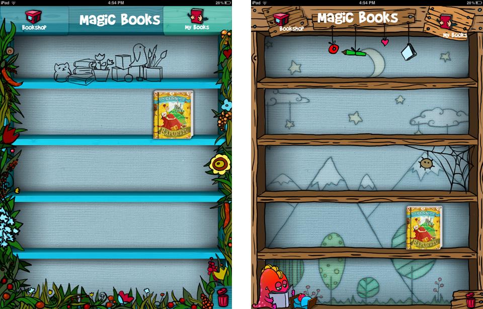 Magic Book App