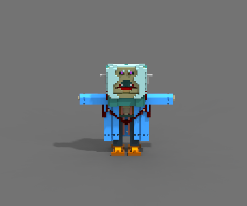 MagicaVoxel Character on Behance