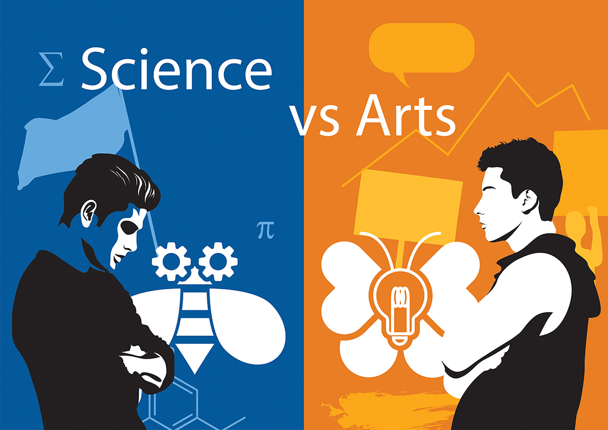 Science vs Arts on Student Show