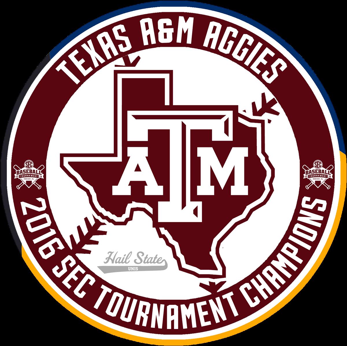 MSU 2016 SEC Baseball Champions Roundel
