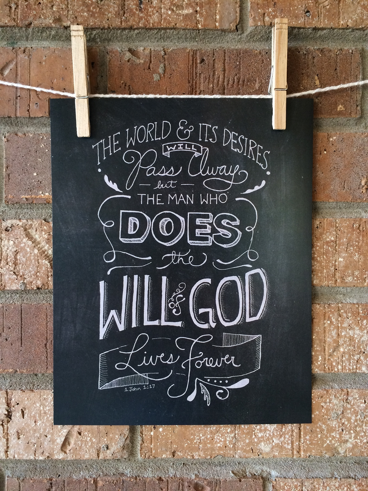 hand-lettering hand-drawn type sketch lettering type design Layout Graphic Designer Scripture bible verse Christian Art