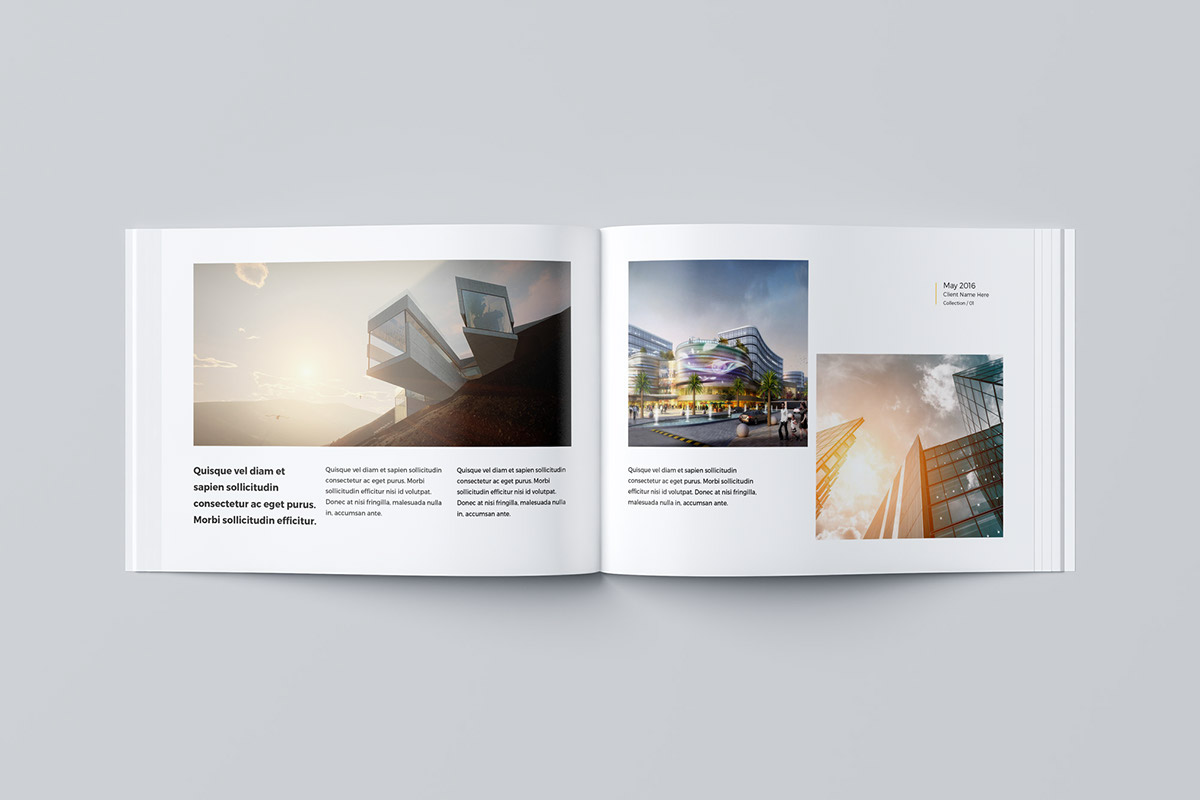 Our portfolio architecture 24 pages a4 a5 on behance - Interior design job advertisements ...