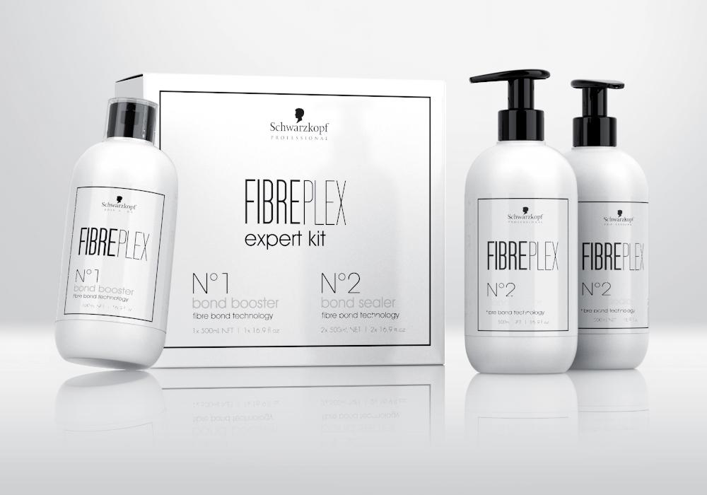 fibreplex Hair Care bond fortifier design Packaging