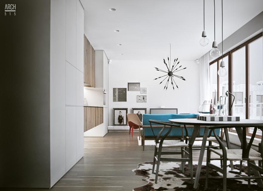 Interior design architecture art