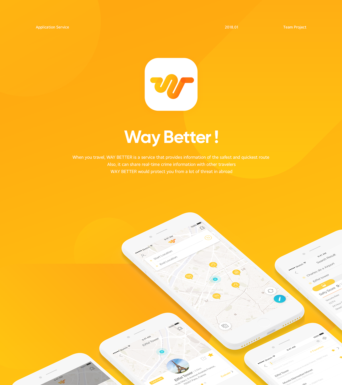 Way Better! - Find the Safe Way App Service on Student Show