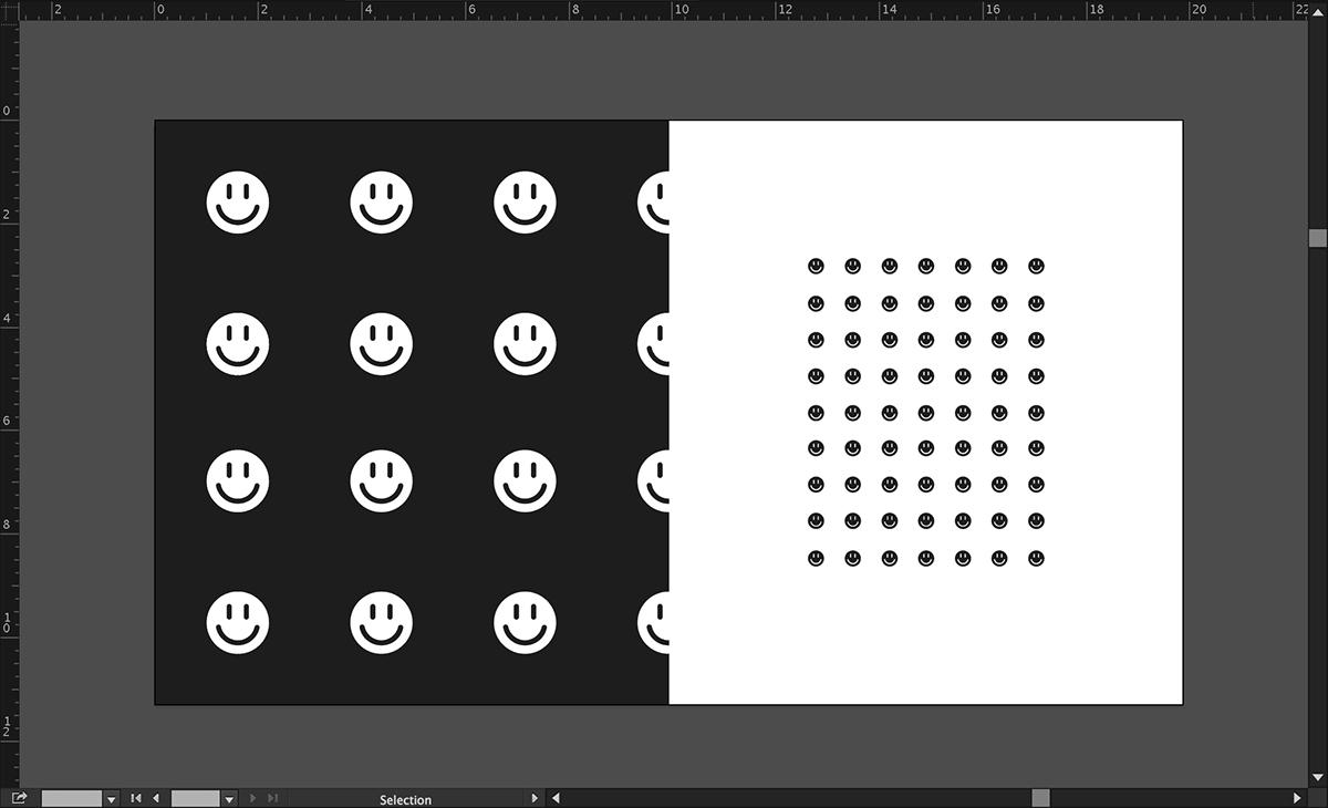 wip design contemporary minimal logo process