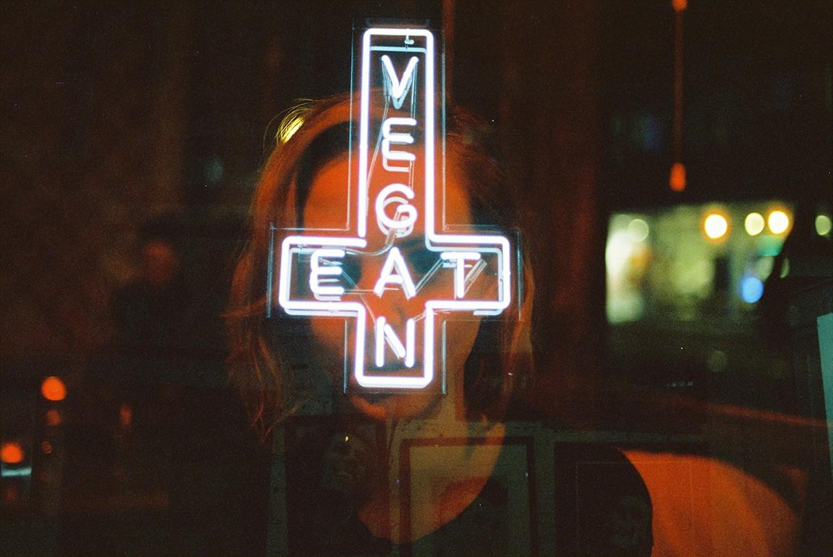 Double Exposure Neon Life Series