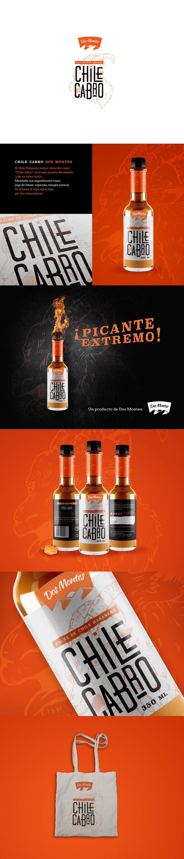 label design hot sauce Label Packaging