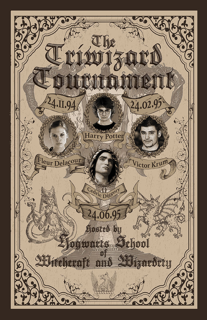 The Triwizard Tournament Poster On Behance