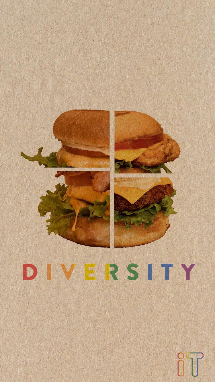 Image may contain: fast food, hamburger and sandwich