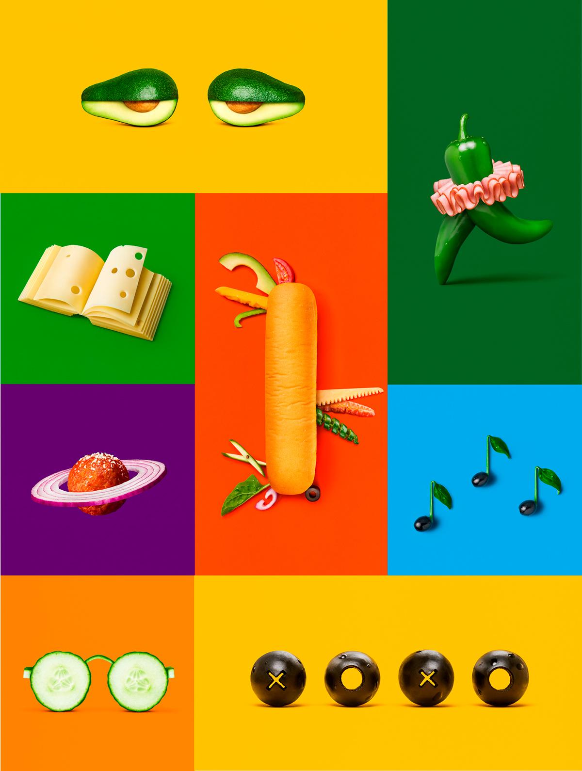 eat fresh subway sandwich food photography New York Turner Duckworth