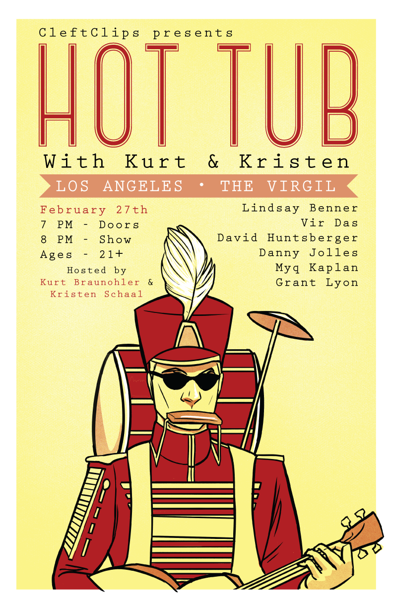 Hot Tub Posters: January - April on Behance