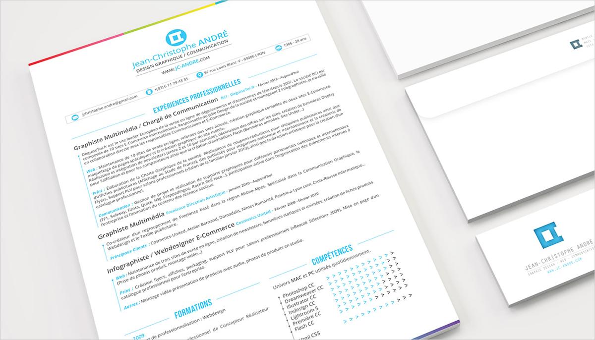 Resume business card Website print portfolio personal Logotype inspire Mockup