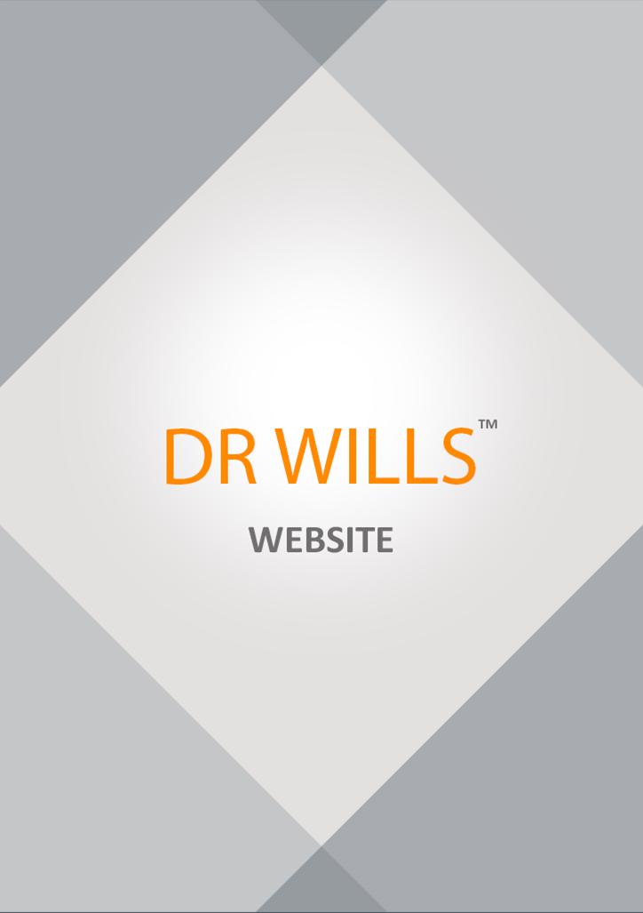 doctor dr. wills Responsive Web Health medical