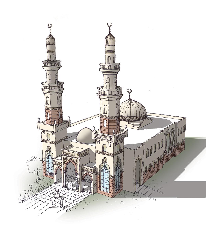Quik Mosque Design On Behance