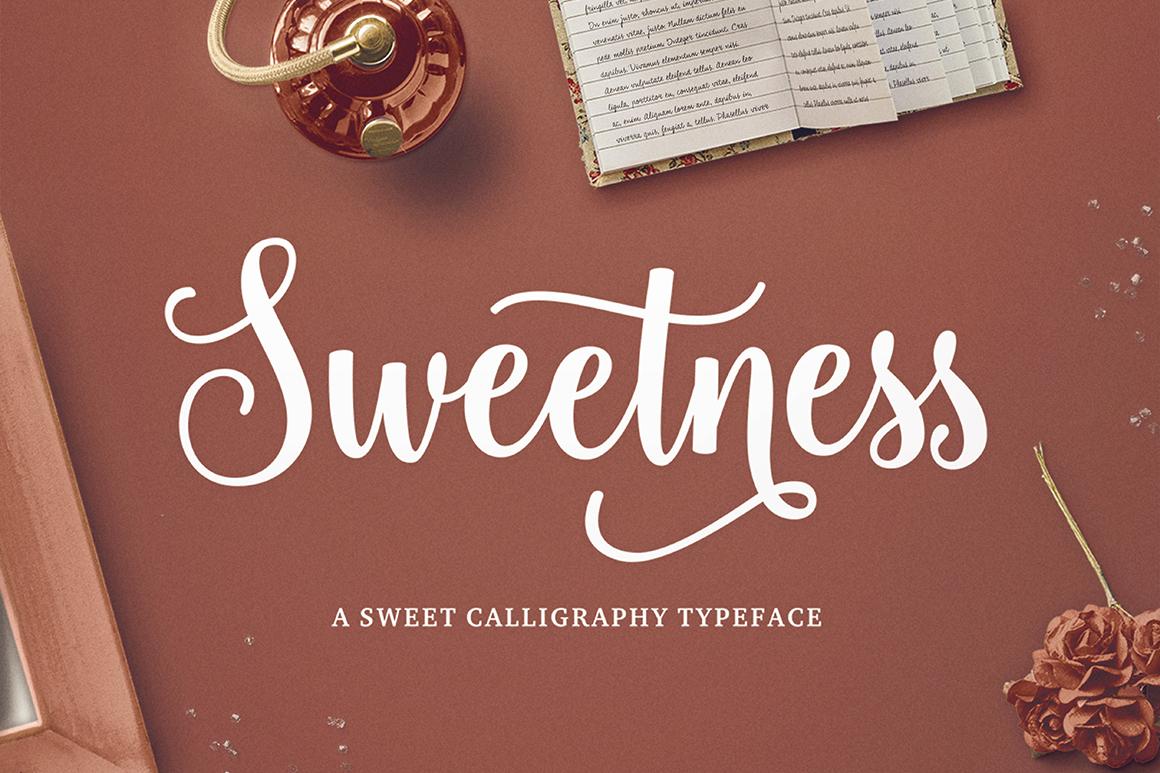 Sweetness Script on Behance