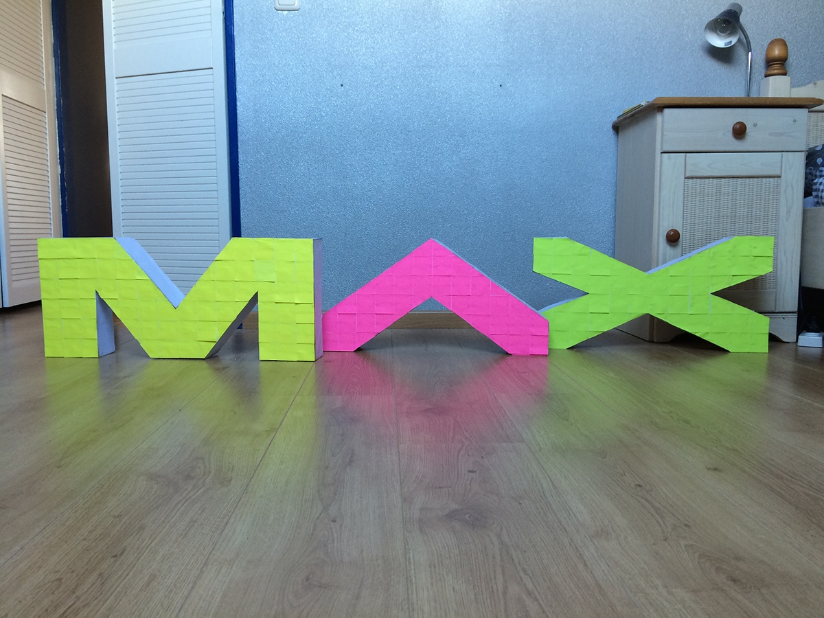 Adobe MAX MAX adobe photoshop crafting graphic design School Project