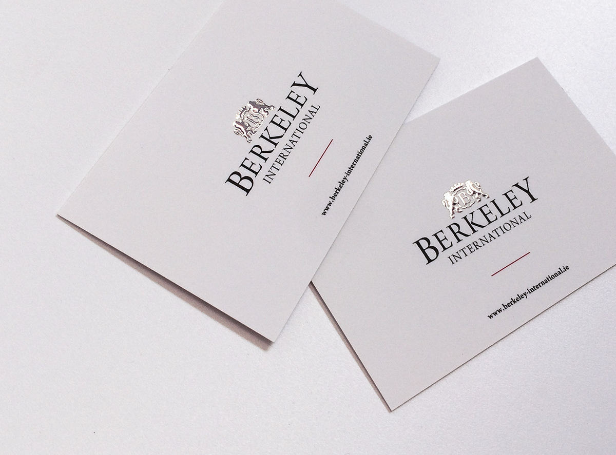 Foil Business Cards On Behance