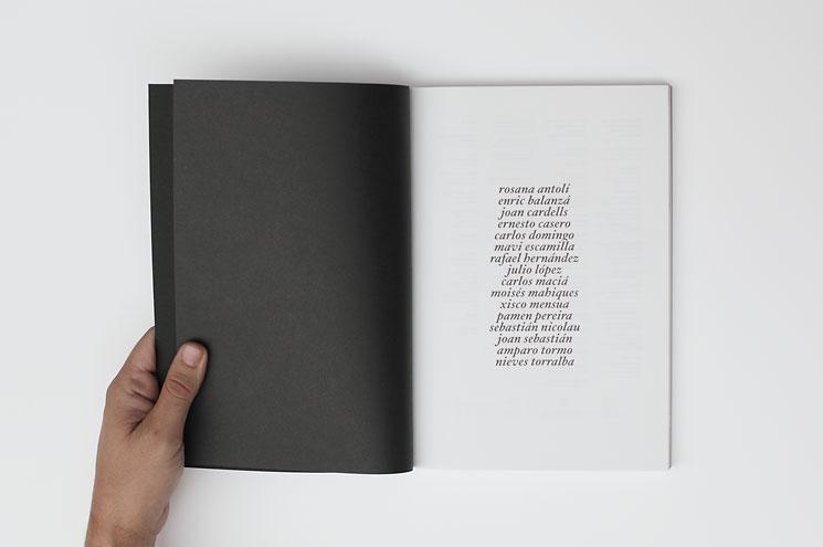 book editorial design Catalogue
