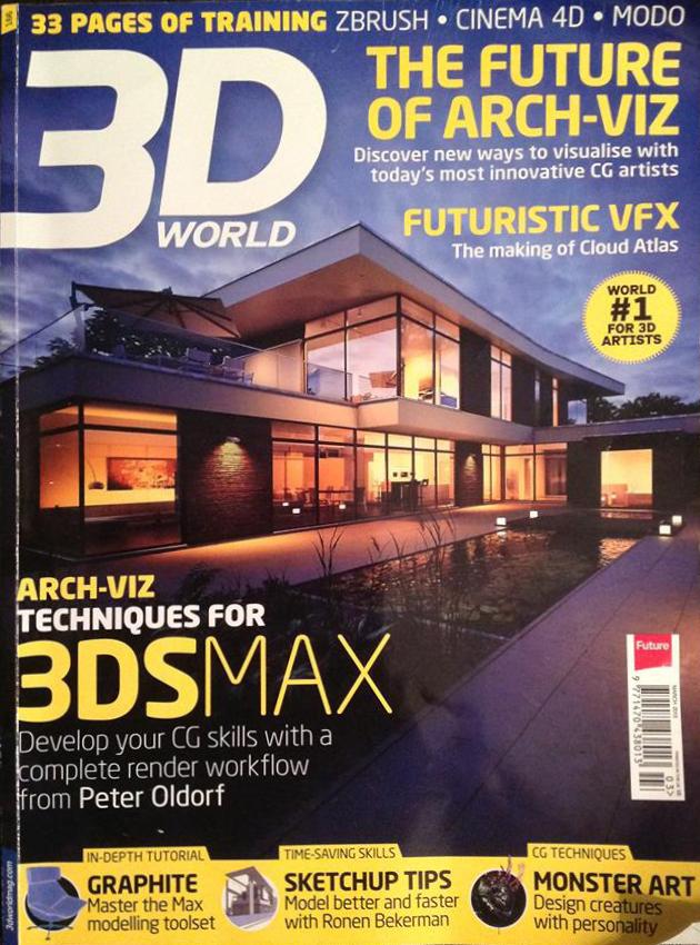 archviz 3DWORLD 3dsmax vray photoshop