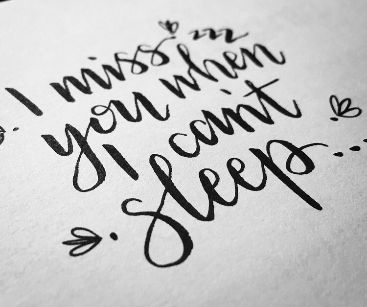 Handlettering Calligraphy   Script hand drawn lettering