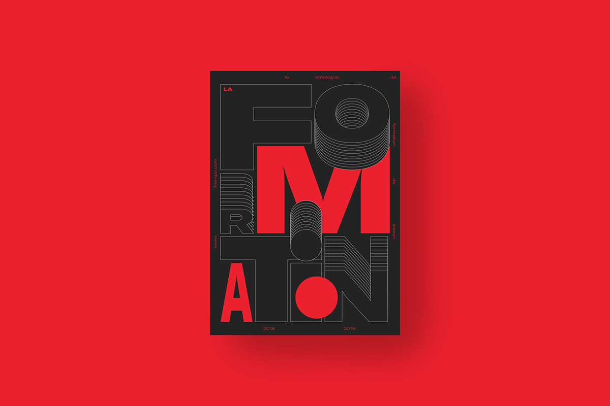 music campus Nantes color typography