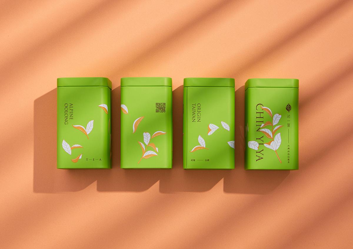 graphic Packaging tea 包裝 茶罐 茶葉