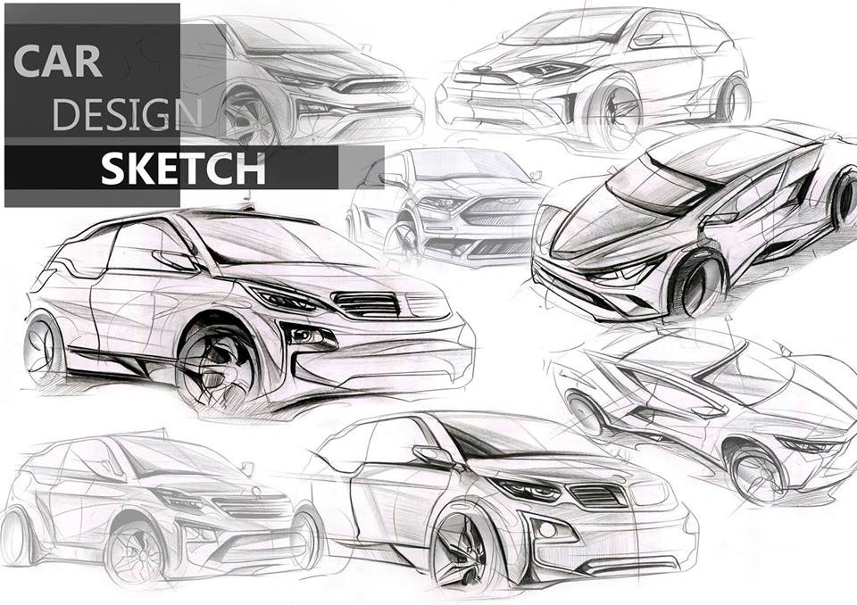 Auto Design Sketch On Behance