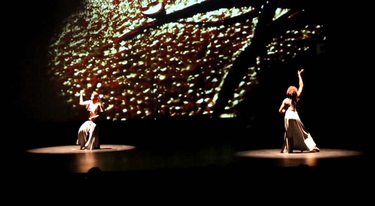 DANCE   videoscenography Stage nawel skandrani tunisia