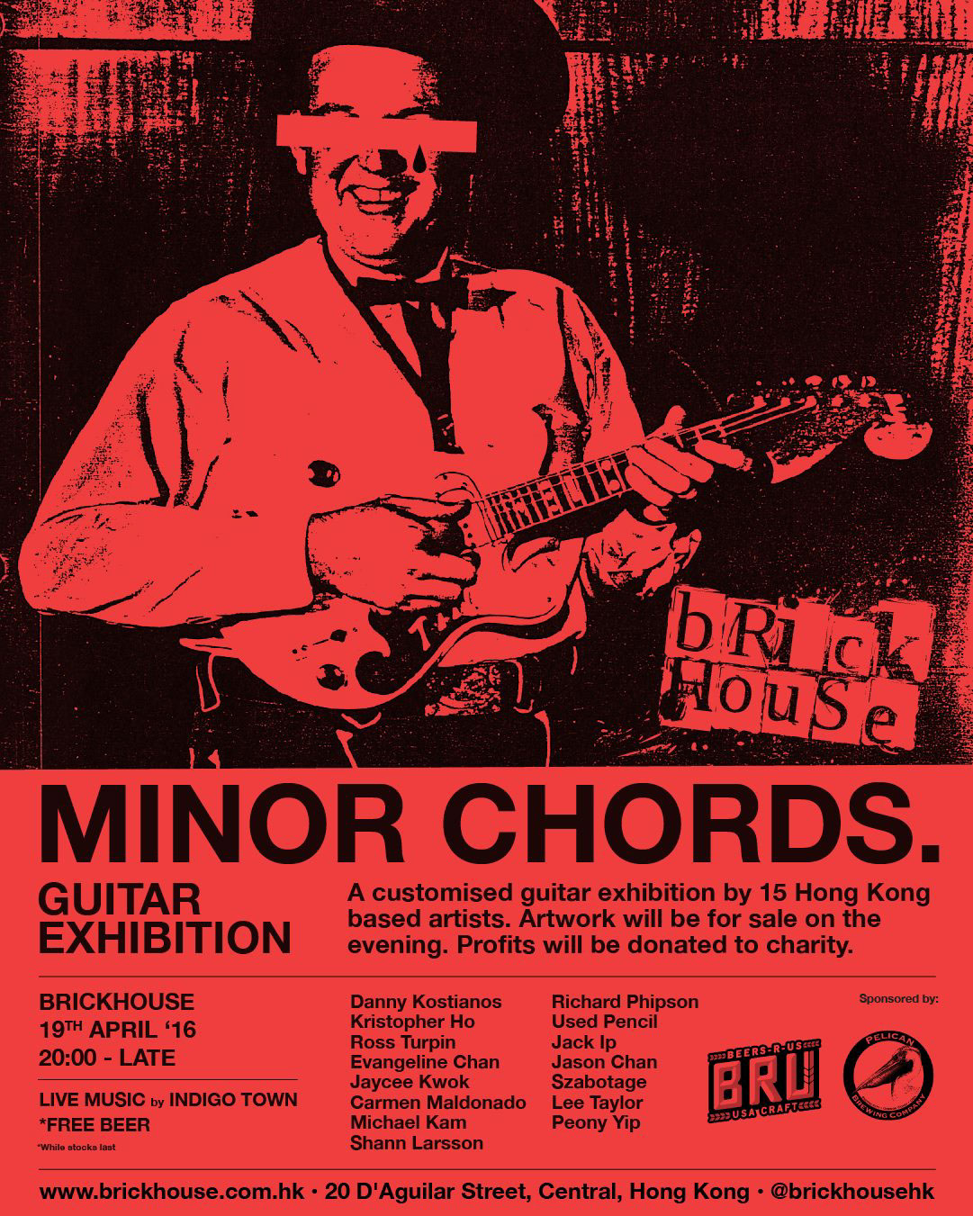 Exhibition Minor Chords Guitar On Behance