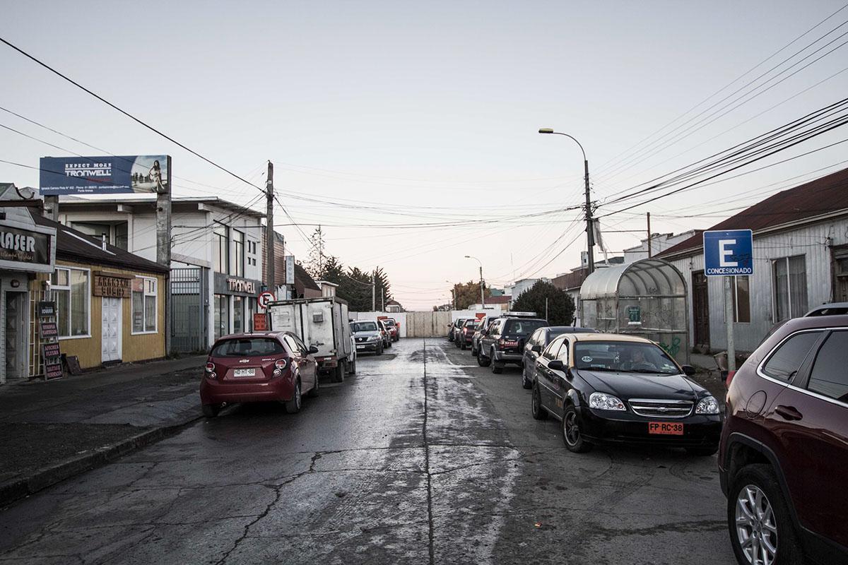 streets patagonia Austral Roads roads dog car