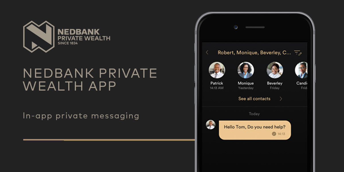 Nedbank Private Wealth App Promoting Campaign on Behance