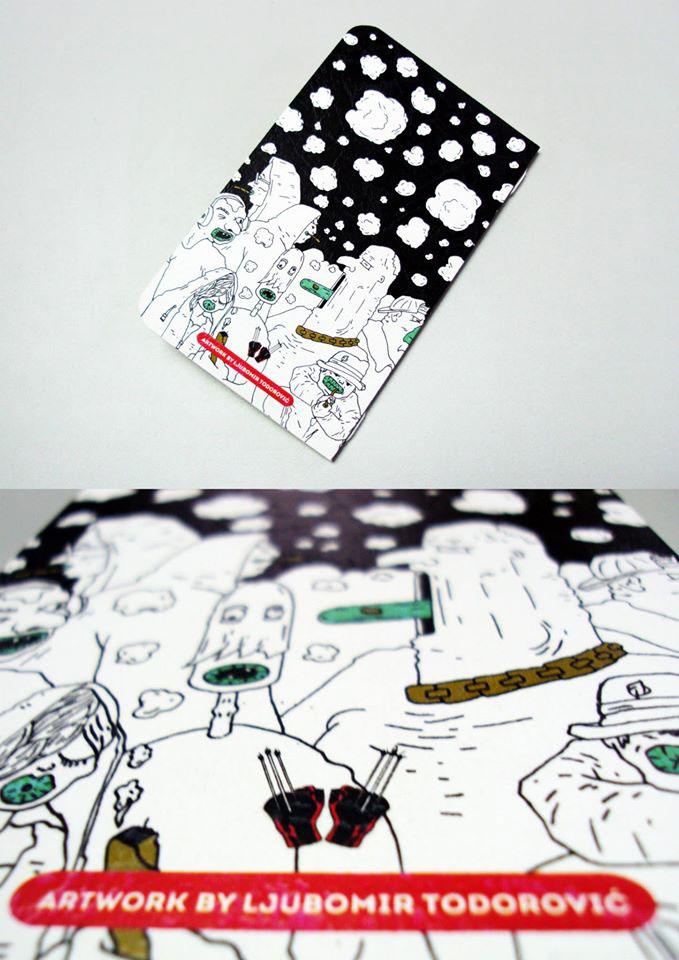 Bookvalno sketchbook notebook ljubomir todorovic