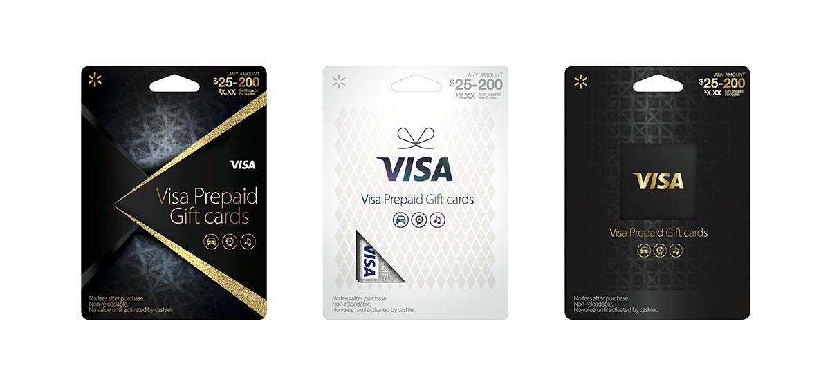 Walmart Visa Prepaid Card on AIGA Member Gallery