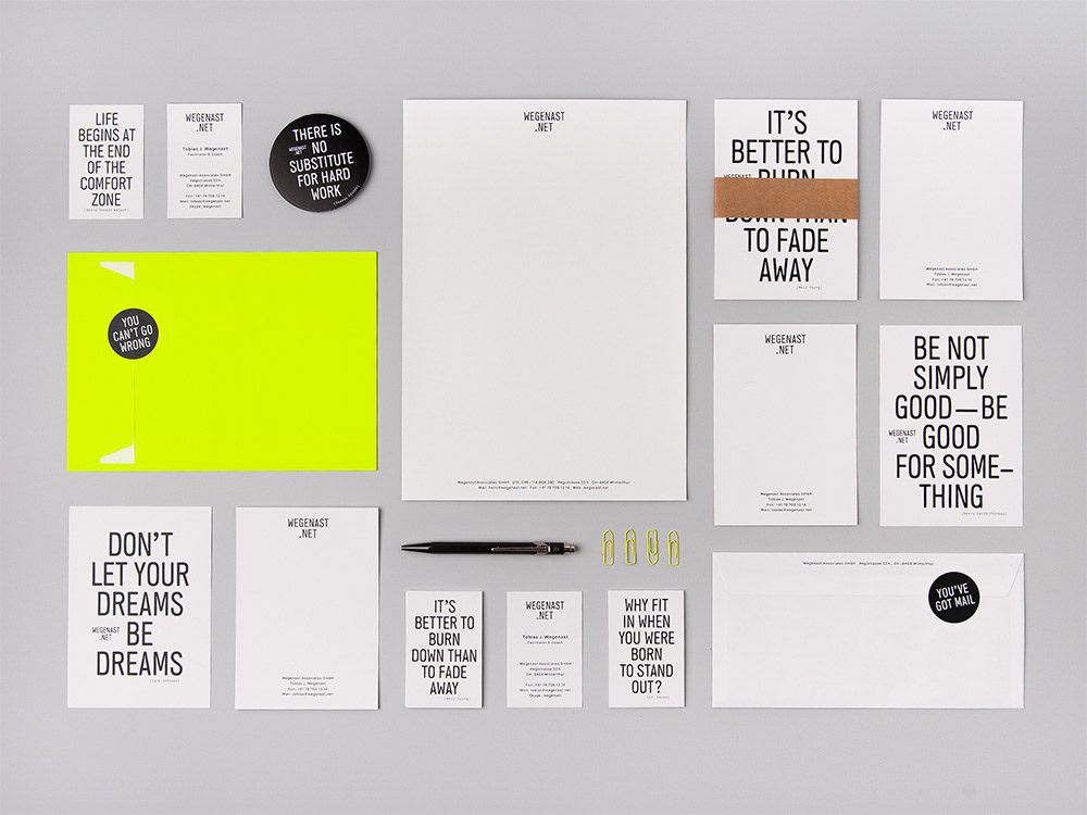 branding ,Corporate Design,typografie,graphic design ,identity,Briefschaft,Visitenkarten,businesscard,Quotes,b&w
