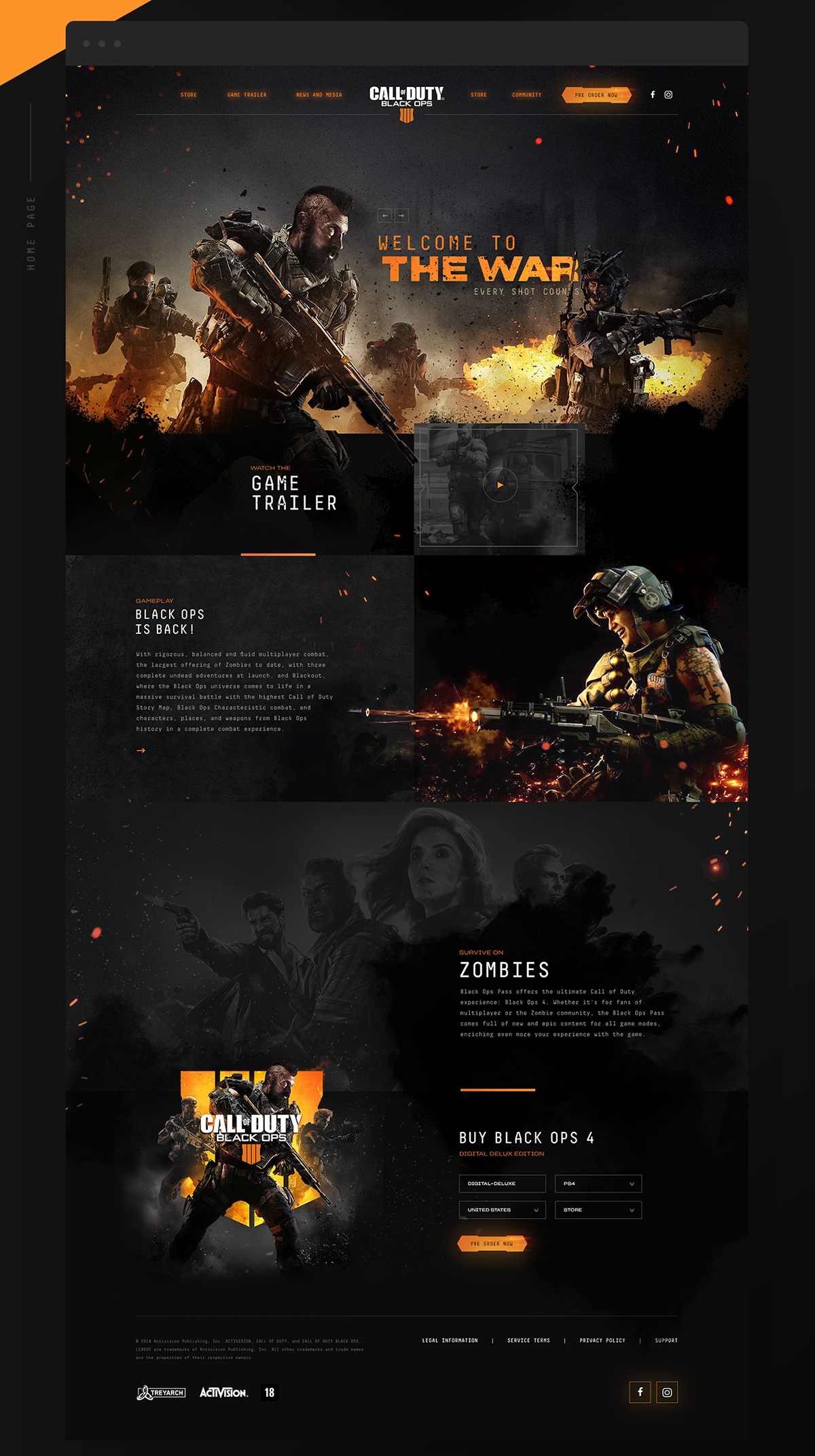 Call Of Duty Black Ops 4 Redesign Concept On Student Show