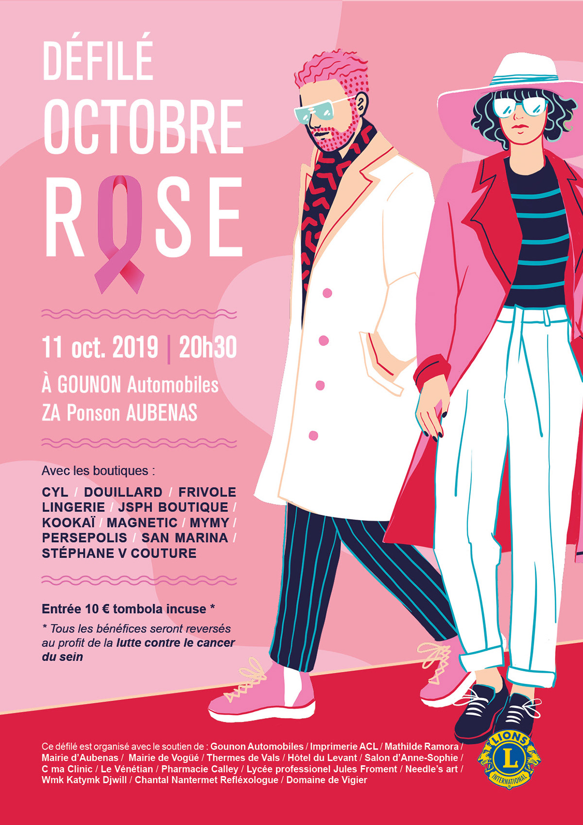 communication Event Fashion  fashion show poster runway ILLUSTRATION