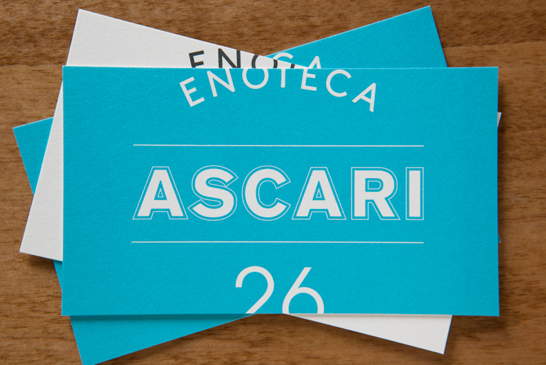 Enoteca Ascari by Blok Design
