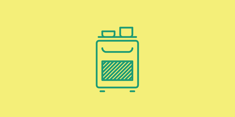 kitchen icons pictogram cook cooker oven fridge pot toaster clock blender glass cup Coffee spoon