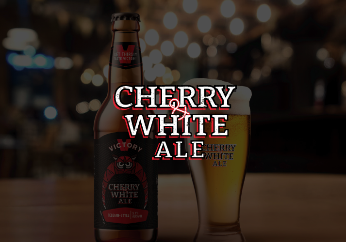 Victory Brewery Victory Beer temple university Temple Alumni Temple Owl Cherry and white beer Beer Packaging