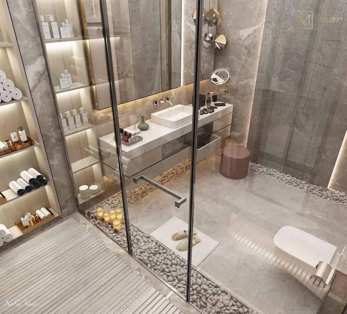 Master bathroom design in ( kuwait) on Behance