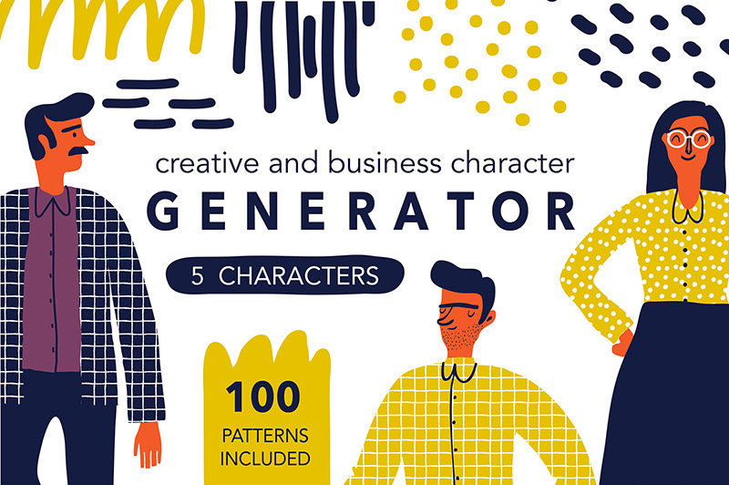 Creative Character Generator on Behance