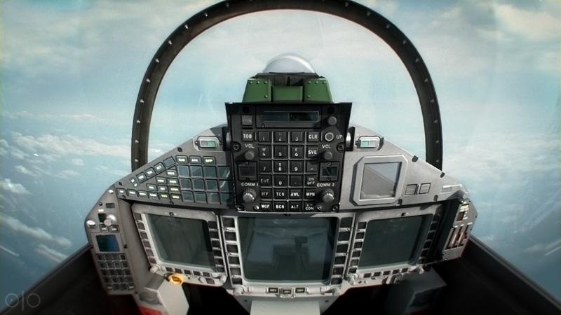 Jet Fighter missile bomb plane War cockpit