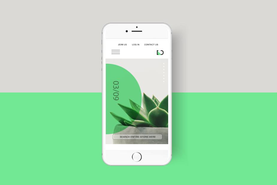 Web Webdesign minimalist minimal decor Website Interface Layout UI Web Design